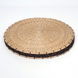 round straw cushion Zabuton