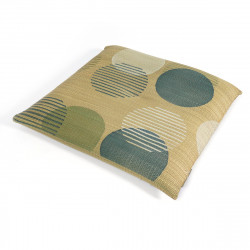 japanese straw cushion round patterns MOOSE 45x45cm