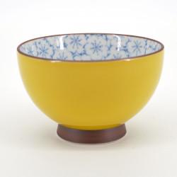 japanese yellow sakura flower teacup KISAKURA