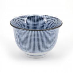 japanese blue lines teacup SENDAN TOKUSA SENCHA
