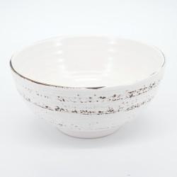 japanese big white bowl 1,05L capacity KOHIKI SAME