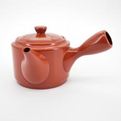 japanese red calligraphy terracotta teapot 0,5L SHUDORO