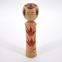 Japanese traditional wooden kokeshi doll vintage handmade