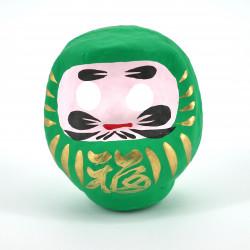 poupée japonaise okiagari DARUMA vert