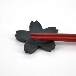 japanese cast iron chopsticks rest cherry blossom SAKURA