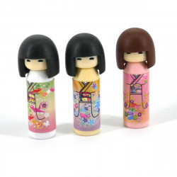 Japanese kokeshi eraser set 2 color choice brand IWAKO