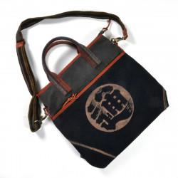 Grand sac unique en tissus recyclés japonais 149 C