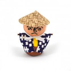 bambola giapponese, fatta di carta - okiagari, KAKASHI, spaventapasseri