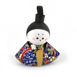 bambola giapponese, fatta di carta - okiagari, OHINASAMA, uomo