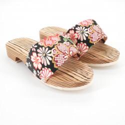 traditional Japanese footwear GETA for women