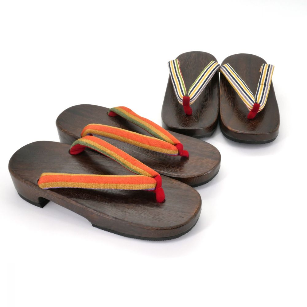 traditional Japanese footwear GETA for women lines