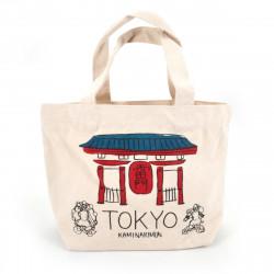 Bolsa japonesa Tote bag TOKYO 20x30cm en algodón