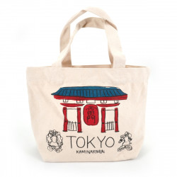 Sac Tote bag japonais TOKYO 20x30cm en coton
