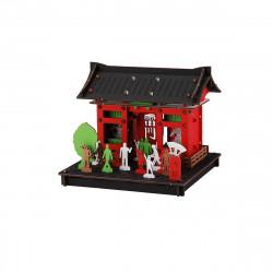 mini maquette en carton, ASAKUSA, Asakusa
