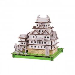 mini modello di cartone, HIMEJI-JO, Castello di Himeji
