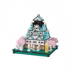 'mini maquette en carton, OSAKA-JO, Château d''Osaka'