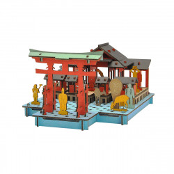 mini modello di cartone, MIYAJIMA, Miyajima