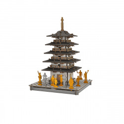 mini cardboard mockup, TO, Pagoda with 5 floors