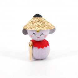 bambola giapponese okiagari protettore, JIZO, protettivo