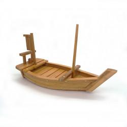 barca per sushi decorazione legno naturale di bambù L50cm MOKUSEIBÔTO