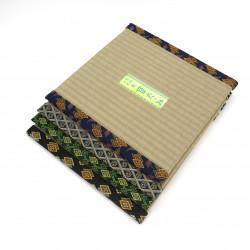 dessous carré en tatami 32 x 32 cm