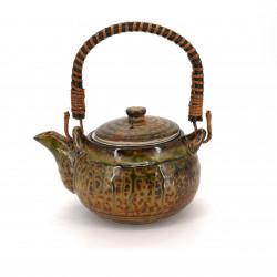 théière japonaise en céramique avec anse marron IRABO