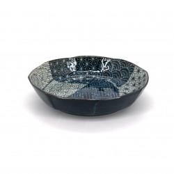 assiette creuse japonaise en céramique ronde KPAKM50