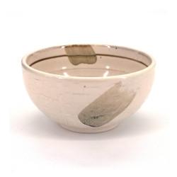 ciotola di zuppa giapponese in ceramica, SHIRO, bianco
