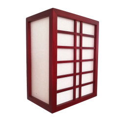wall lamp Japanese Red GURRIDDO