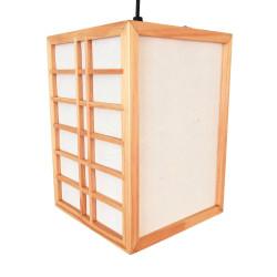 Lampada da soffitto giapponese, colore naturale GURRIDDO