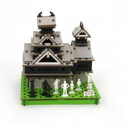 mini maquette en carton, KUMAMOTO-JO, Château de Kumamoto