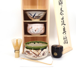 servizio per la cerimonia del tè giapponese, SADO, PRESTIGE 5 pcs