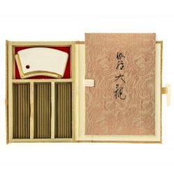 piccolo libro 45 bastoncini di incenso, KYARA TAYKAN, legno di aloe