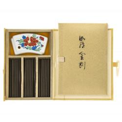 piccolo libro 60 bastoncini di incenso, KYARA KONGO, jinkoh