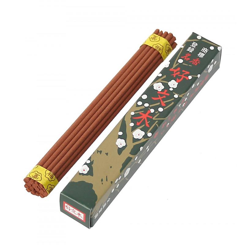 Confezione da 30 bastoncini di incenso di lunga durata, DAIGEN KOH, palissandro
