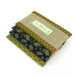 dessous de plat / théière rectangulaire en tatami 15 x 27 cm