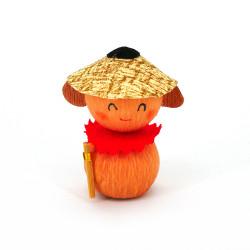 bambola giapponese, fatta di carta - okiagari, JIZO, protettivo