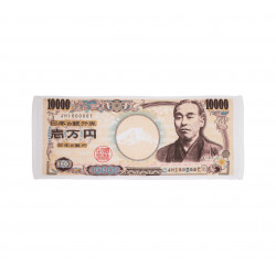 Serviette de toilette en coton, TENUGUI BILL, Billet de 10.000 ¥