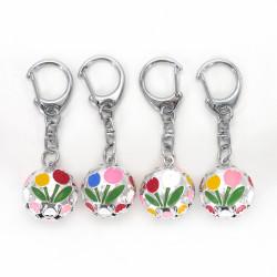 Schlüsselanhänger Japanische Glockentulpe, Farbe nach Wahl KIHORUDA