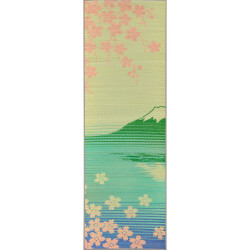 Japanese Natural Tatami Yoga Mat - Sakura-Fuji