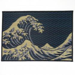 tovaglietta in Goza, Hokusai, NAMIFUJI.