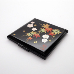 black pocket mirror, SYUNJU, autumn