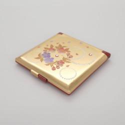 goldener Taschenspiegel, KARIN, Kirschblüten