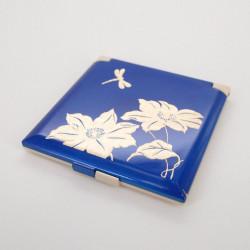 specchio tascabile blu, TOMBO, libellula
