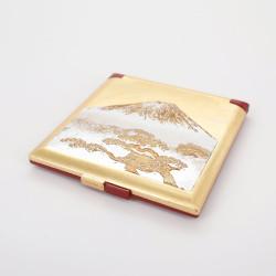 goldener Taschenspiegel, SHIROFUJI, Der Fuji