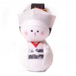 bambola giapponese, fatta di carta - okiagari hanayome