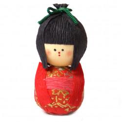bambola giapponese, fatta di carta - okiagari, JOJI, ragazza