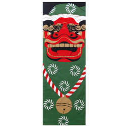 Japanese cotton towel TENUGUI, SHISHIMAI