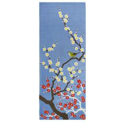 Asciugamano in cotone giapponese TENUGUI, SAKURA Naichingēru