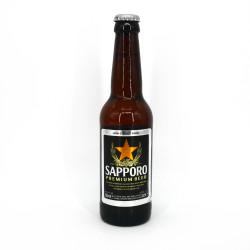 Japanisches Sapporo-Bier in der Flasche - SAPPORO BEER